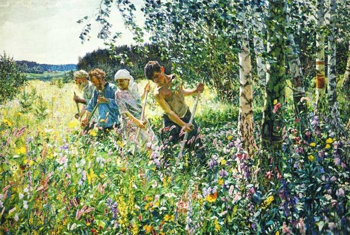 день жизни крестьянина средневековья 6 класс сочинение