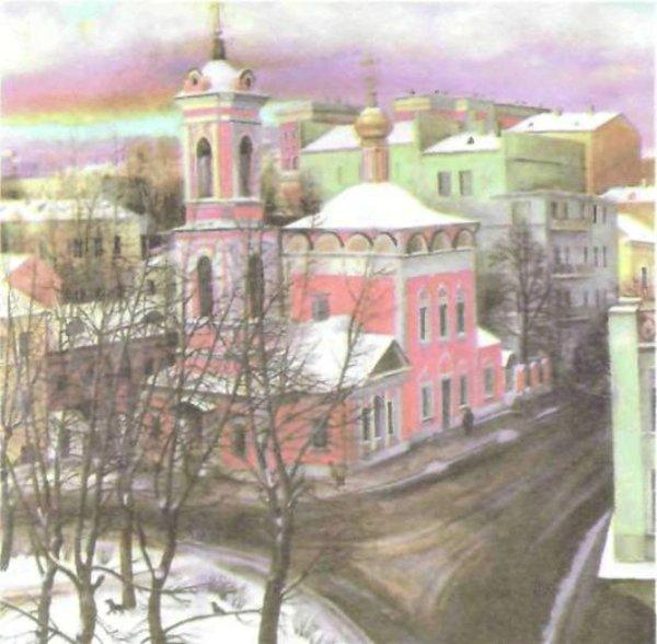 сочинение по картине т назаренко церковь вознесения на